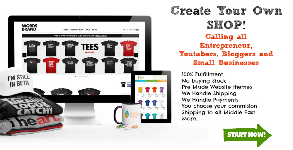 Create your own shop Instantly!