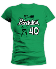 Its my Birthday I am 40!