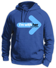 I am with her