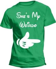 She's my Weirdo