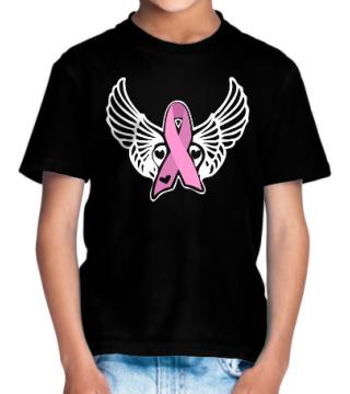 Pink Ribbon Wings