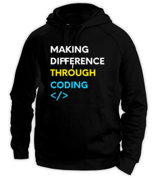 Making Difference (Coding Hoodie)